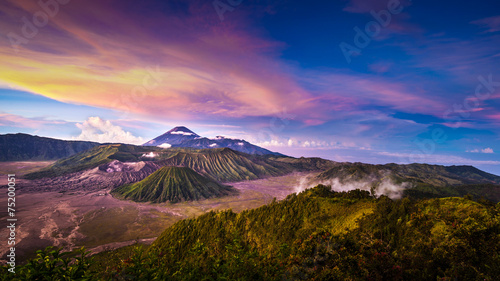 Foto op Plexiglas Indonesië Mount Bromo volcano in East Java, Indonesia