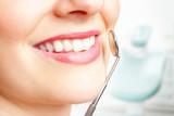 Fototapety Untersuchung beim Zahnazt