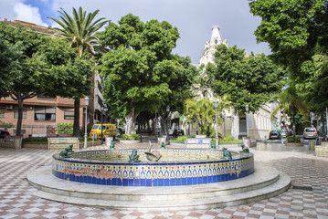 Fontain in the park