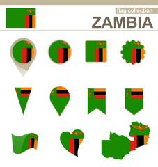 Zambia Flag Collection