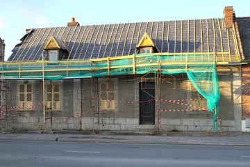 maison en rénovation