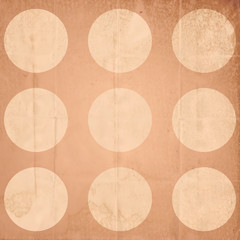 Vintage background with circles