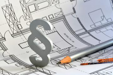 Paragraph, Baurecht, Bauordnung, Bauplan, Gesetz,