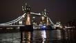 Tower Bridge Lift at Night, pan