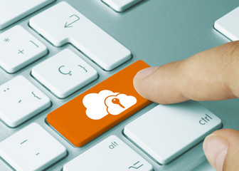 Cloud with a key