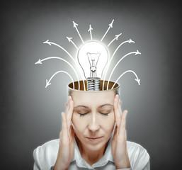 Idea of hard thinking.
