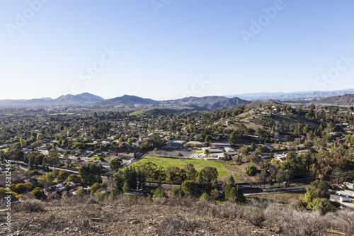 Fototapeta Thousand Oaks in Ventura County California