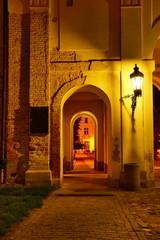 Valtice Chateau Entrance