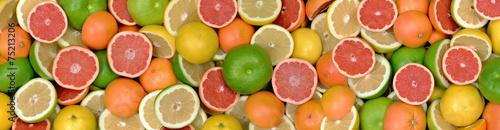 Fototapeta Owoce cytrusowe 3