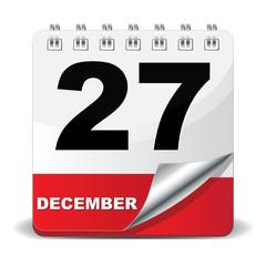 27 DECEMBER ICON