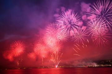 havai fişekli kutlama