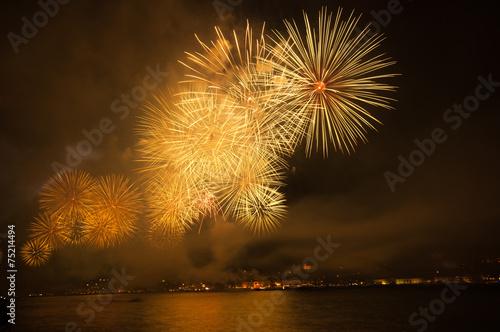 havai fişekli kutlama - 75214494