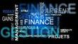 Nuage de mots sur la finance