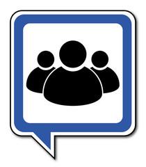 Logo utilisateurs. Groupe.