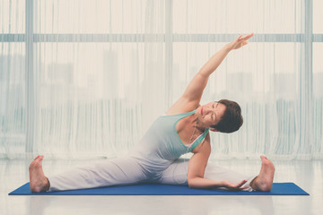 Doing exercising
