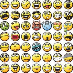 big set of smilies