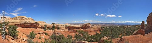 Fotobehang Natuur Park Panorama of Lanscape in Arches National Park