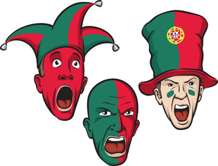 football fans from Portugal