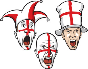 football fans from England