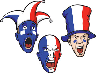 football fans from France