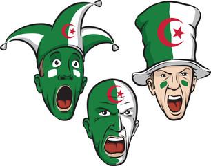 football fans from Algeria