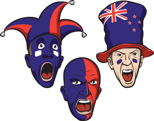 football fans from New Zealand