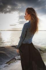 Evening Girl