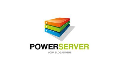 Power Server Logo