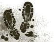 mud of footprint - 75220282