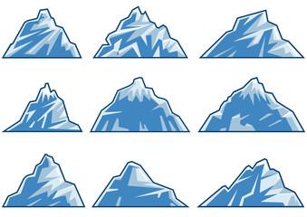 blue mountain symbols