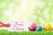 Ostern Eier Wiese
