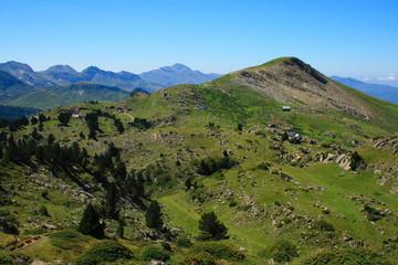 Larra belagua karst area and meadows