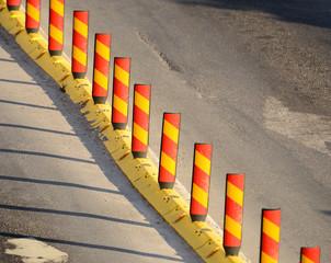 Roadwork dividing line