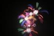 Feuerwerk-Artistik