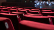 Empty Theater Chairs - 75228084