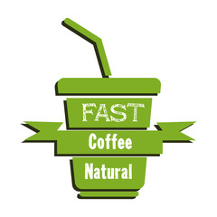 Fast natural coffee