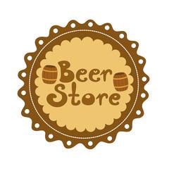 Badge Beer store