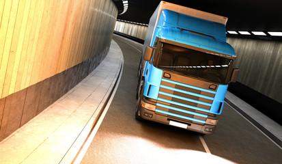 Tir, camion, trasporti, merci
