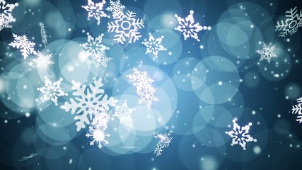 Winter Time CG Footage