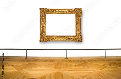 Leinwandbild Motiv quadro vuoto al museo