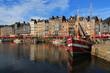 Vieux bassin d'Honfleur, France - 75232861