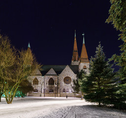 Tuomi kirkko. Tampere, Finland.