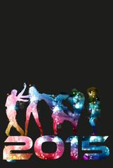 2015. Disco dance