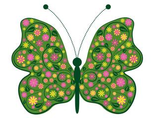 Schmetterling der Fantasie