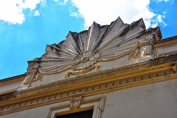 Miradas arquitectónicas en Plasencia, decoración de un edificio
