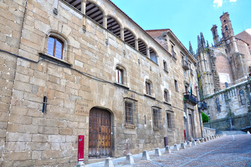 Plasencia, casa del Doctor Trujillo, Palacio de Justicia
