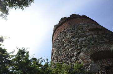 Torre antica di guarda nella città di Ravensburg