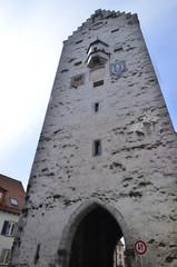 Obertor torre antica per le impiccagioni in Ravensburg