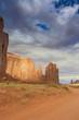 Leinwandbild Motiv Unique Buttes in Monument Valley in Utah State, USA