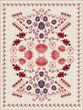 Ethnic Floral Carpet Design